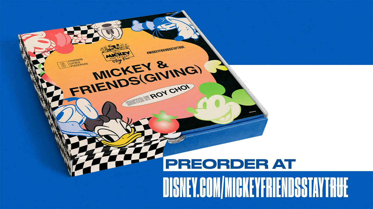Mickey & Friends(giving) with Chef Roy Choi