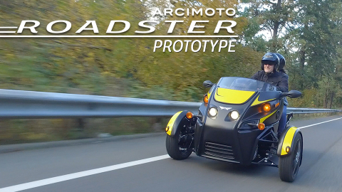 Arcimoto begins development of the Roadster, a pure electric thrill ride unlike any vehicle on the road today (Photo: Business Wire)