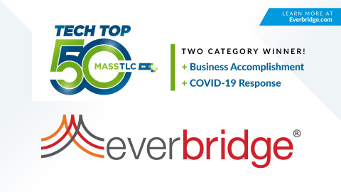 Everbridge Wins Top Tech Company Awards in the Categories of COVID-19 Response and Business Accomplishment