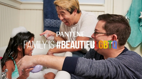 Family is #BeautifulLGBTQ: Raymond & Robbi on becoming a family (Photo: Business Wire)