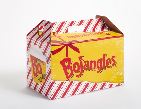Unwrap a Bojangles Holiday Big Bo Box this season for delicious chicken and fixin's and then reuse your box for holiday decorations for a chance to win BIG! (Photo: Bojangles')