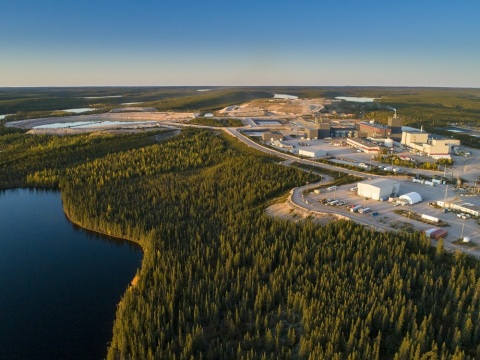 Orano Canada's McClean Lake Mill in Saskatchewan – the only plant worldwide capable of processing high-grade uranium ore without dilution. Photo courtesy Orano Canada.