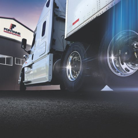Fontaine Modification has been designated as a preferred installer of Aperia Technologies' Halo Tire Inflator and Halo Connect technology. Fontaine Modification will offer these installations at all 10 of its modification centers across the country. (Photo: Business Wire)