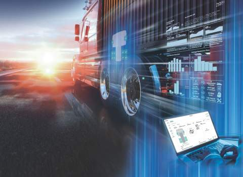 Halo Connect is a proprietary connectivity platform that enables fleets to virtually eliminate unplanned tire-related downtime by pairing predictive alerts with active inflation. (Photo: Business Wire)