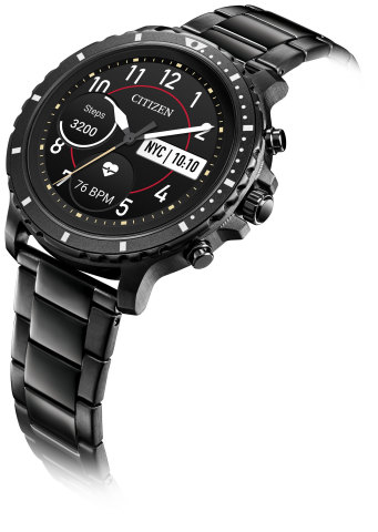 Citizen Introduces Its First Full Digital Display Smartwatch: CZ Smart (Photo: Business Wire)