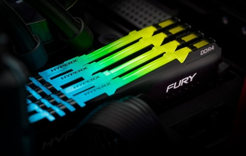 HyperX Announces FURY DDR4 RGB Memory SKU Additions (Photo: Business Wire)