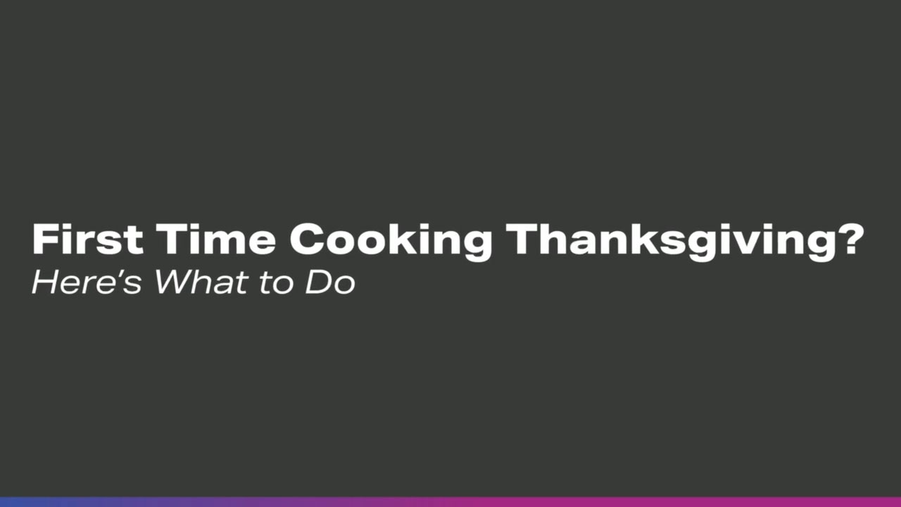 First Time Cooking Thanksgiving? Here's What To Do: 7 Tips from Jane Freiman, Founder of Smart Kitchen Insights Group
