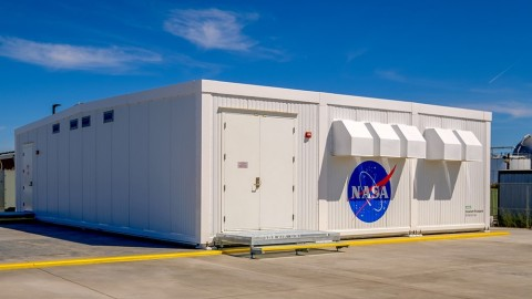 NASA's Modular Supercomputing Facility, where its Aitken supercomputer is housed, at NASA's Ames Research Center in Mountain View, California. Image credit: NASA Ames Research Center