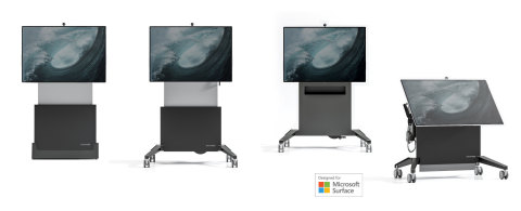 Salamander Mobile Stands Designed for Surface (Photo: Business Wire)
