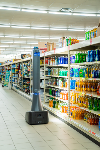 Badger Retail InSight scanning store shelves. (Photo: Business Wire)
