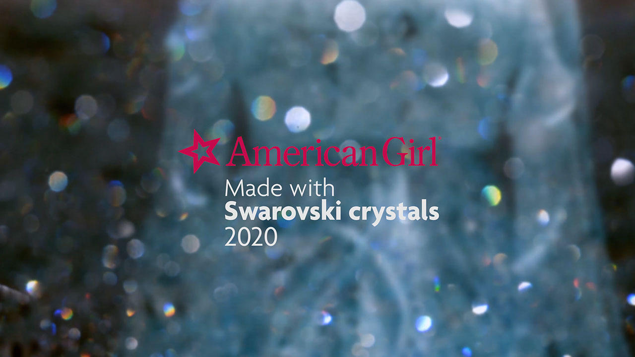 Behind-the-scenes video of the making of American Girl's three one-of-a-kind collector dolls created in partnership with Swarovski crystals.