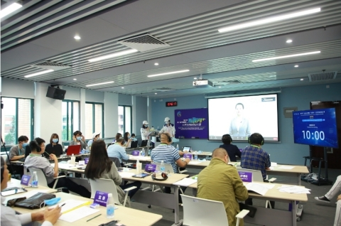 """Finals of 6th China International College Students' """"Internet+"""" Innovation and Entrepreneurship Competition open in Guangdong (Photo: Business Wire)"""