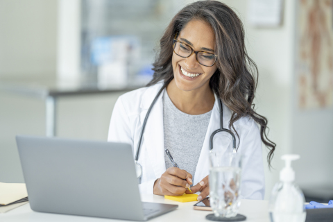 68% of physicians report they're motivated to increase telehealth use in their practices according to new survey from COVID-19 Healthcare Coalition. Credit Getty Images