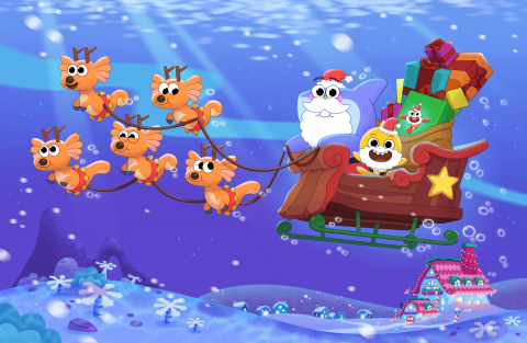 Baby Shark's Big Fishmas Special (Photo: Business Wire)