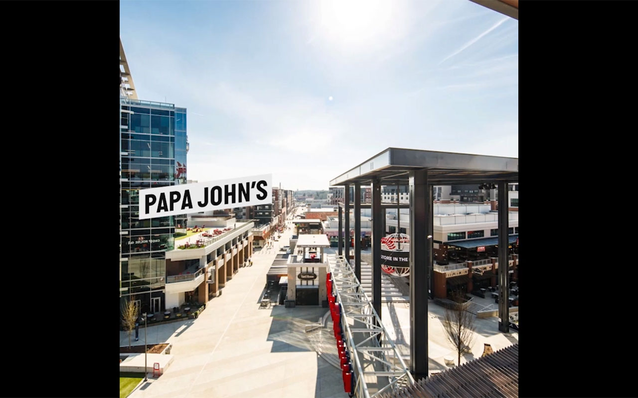 Papa John's Headquarters at The Battery Atlanta