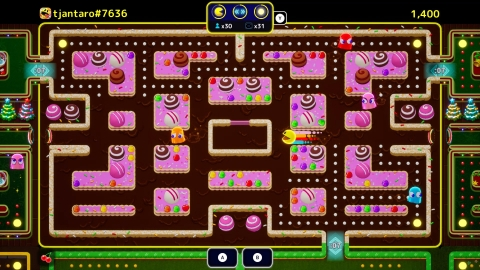 PAC-MAN Mega Tunnel Battle (Graphic: Business Wire).