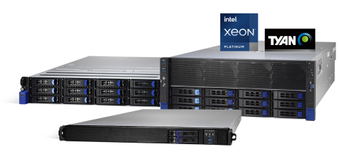 TYAN's HPC and AI Server Platforms are Optimized for Enterprise and Data Center Markets (Photo: Business Wire)