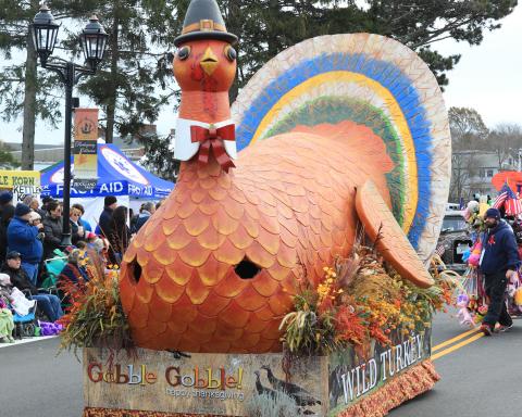 Thanksgiving Parade, Plymouth, MA; Courtesy Plymouth Rock TV