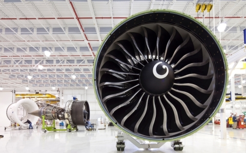 Celebrating 25 years of service today, the GE90 engine has been among the most reliable in the industry with a world class dispatch reliability rate of 99.97 percent. (Photo: Business Wire)