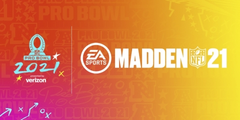 2021 NFL Pro Bowl x EA SPORTS Madden NFL 21 (Graphic: Business Wire)