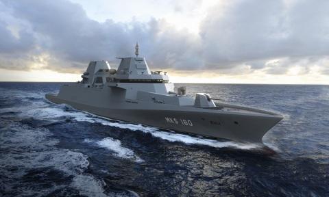 MKS 180 frigate © Damen Schelde Naval Shipbuilding