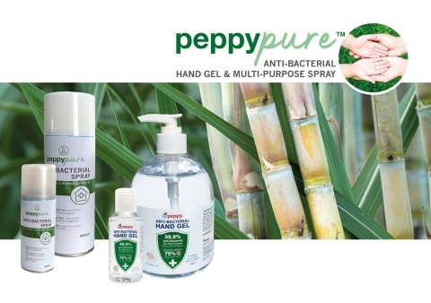 Sanitiser Supplier Peppy Group Supports Students to Stay Safe and Strong During COVID-19 (Graphic: Business Wire)