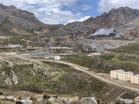 Photo 1: Yauricocha Mine, aerial view (Photo: Business Wire)