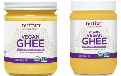 Nutiva Organic Vegan Ghee Family Image (Photo: Business Wire)