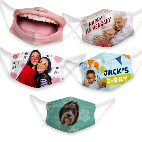 Skyrocket launches SnapStyle Printable Masks, the first ever customizable and printable face masks, at US retailers, including Walmart and Amazon. SnapStyle Masks uses any picture, pattern, or design and prints it on 100% cotton fabric on a home printer - no sewing required! (Photo: Business Wire)