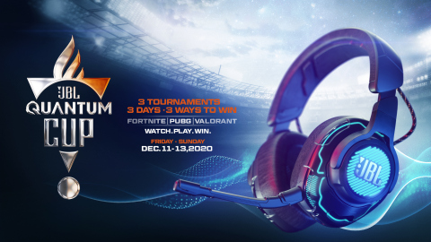 Global Gamers to Compete in JBL Quantum Cup (Graphic: Business Wire)