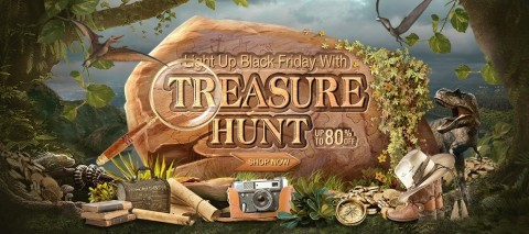 Light Up Black Friday with Treasure Hunt (Photo: Business Wire)