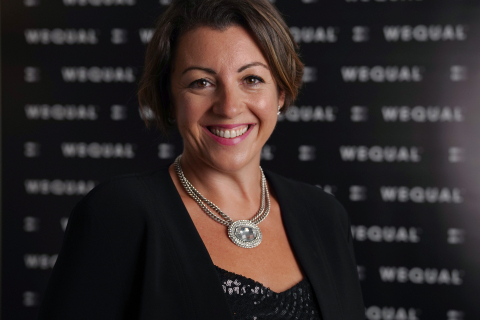 Katie Litchfield - Founder & CEO, WeQual (Photo: Business Wire)