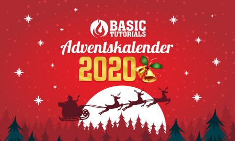 Der Basic Tutorials Technik-Adventskalender 2020 bietet großartige Gewinne! (Graphic: Business Wire)
