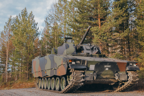 BAE Systems has received a life-extension contract to keep the Swiss Army's fleet of 186 CV9030s in service until 2040. (Photo: BAE Systems)