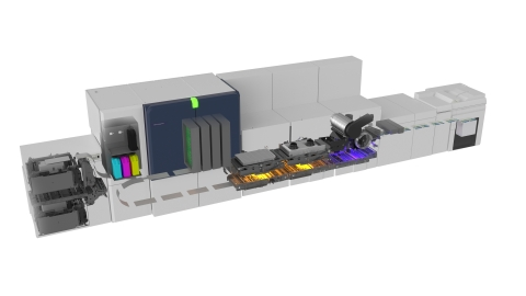 With intelligent automation, Baltoro uses 50% less ink than competitor presses. (Photo: Business Wire)