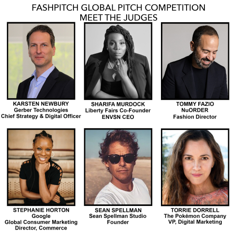 Fashwire Announces the Top Ten Finalists for its Inaugural FashPitch Competition with Influential Panel of Industry Expert Judges (Graphic: Business Wire)