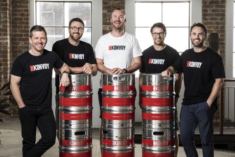 The Konvoy team (Photo: Sigfox)