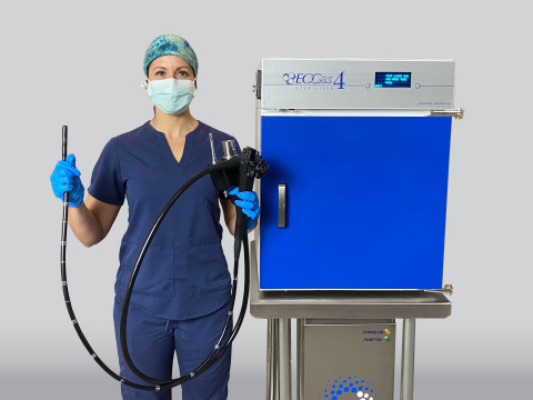 Andersen Sterilizers first ethylene oxide gas sterilization system cleared by FDA 510(k) for terminal sterilization of duodenoscopes and colonoscopes. (Photo: Business Wire)