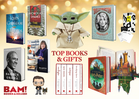 Books-A-Million's Top 10 Books & Gifts of 2020 (Photo: Business Wire)