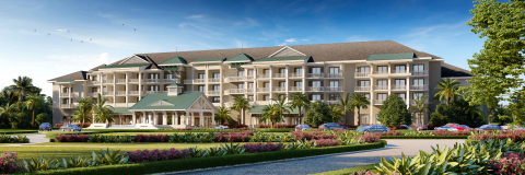Exterior view of Banyan Cay Resort & Golf (Photo: Business Wire)