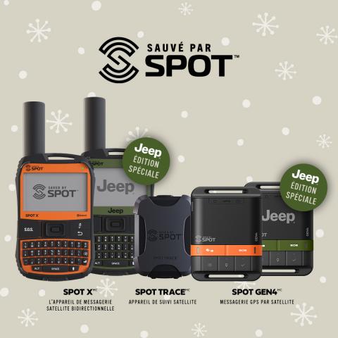La gamme élargie des appareils de messagerie GPS par satellite SPOT assure la sécurité au-delà du cellulaire pour les excursions et les sorties en plein air cet hiver. (Photo: Business Wire)
