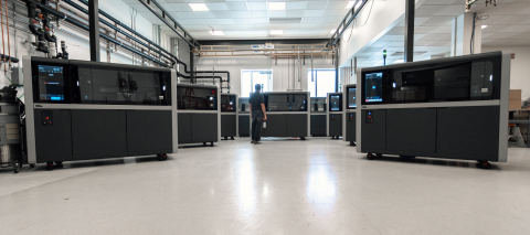 The Desktop Metal Shop System™, the world's first metal binder jetting system designed for machine shops, is being manufactured in volume and shipped to customers around the world. (Photo: Business Wire)