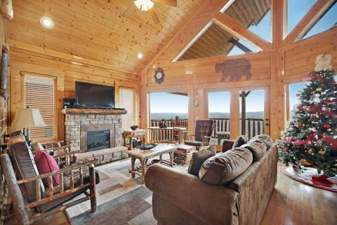 Breathtaking View, a Vacasa vacation rental in Pigeon Forge, Tennessee (Photo: Business Wire)