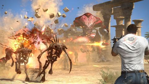 Serious Sam Collection includes all content from Serious Sam HD: The First Encounter, Serious Sam HD: The Second Encounter and Serious Sam 3: BFE, including The Legend of the Beast and Jewel of the Nile expansions. (Graphic: Business Wire)