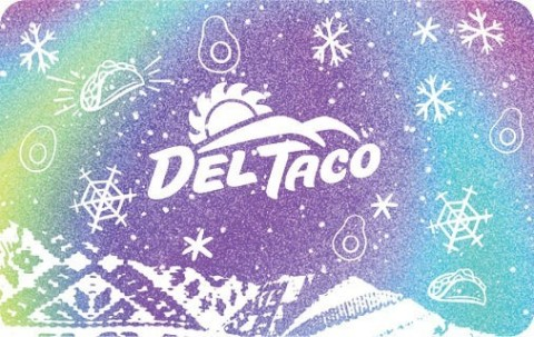 Del Taco is launching its holiday gift card bonus program, inviting fans to earn free menu items while checking off their holiday shopping lists. (Photo: Business Wire)