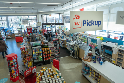 Walgreens pickup sign (Photo: Business Wire)