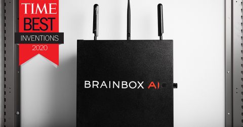 BrainBox AI has been chosen as one of TIME's 100 Best Inventions of 2020. BrainBox AI is leading a new era in building automation through its revolutionary autonomous AI HVAC technology. (Photo: Business Wire)