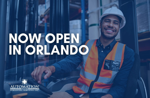 Automation Personnel Services, Inc. announces its new office in Orlando, Fla. (Photo: Business Wire)