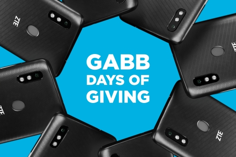 Gabb Wireless is giving away 2,500 smartphones, a $250,000 value, on Nov. 23 as part of its new Gabb Days of Giving. (Graphic: Business Wire)