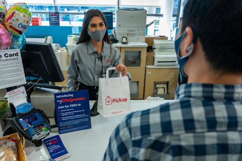 Walgreens pickup at photo counter (Photo: Business Wire)